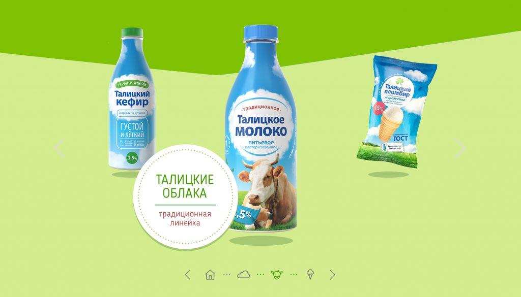 сайт о продукте